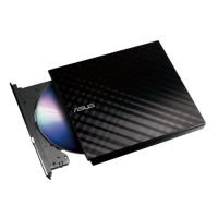 Asus External Slim 8X DVD-RW - Black