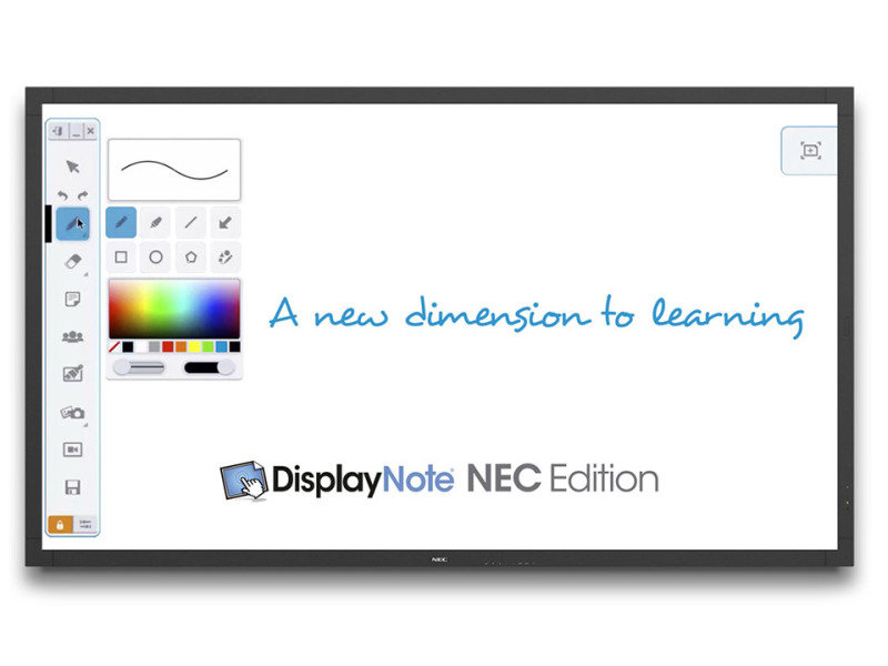 "NEC 60003679 80"" LED Large Format Display Full HD"