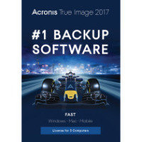 Acronis True Image 2017 3 Computers perpetual