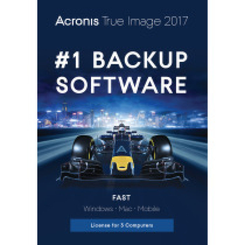 Image of Acronis True Image 2017 3 Computers perpetual