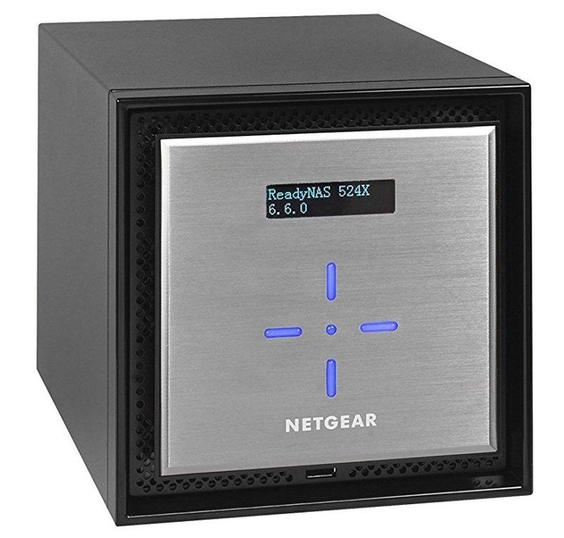 Netgear ReadyNAS 524X 4bay Diskless 1x10GbE
