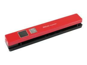 IRIScan Anywhere 5 Red - 8PPM Scan anything, anywhere. No computer needed. Battery Powered Portable Scanner. Scan up to 100 A4 documents on battery mode. Scan directly to JPEG/PDF. Scanning resolutions: 300/600/1200 dpi. Directly save scans into your micr