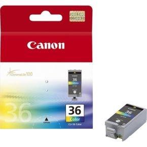 Canon CLI-36 Colour Inkjet Cartridges (2 Pack)