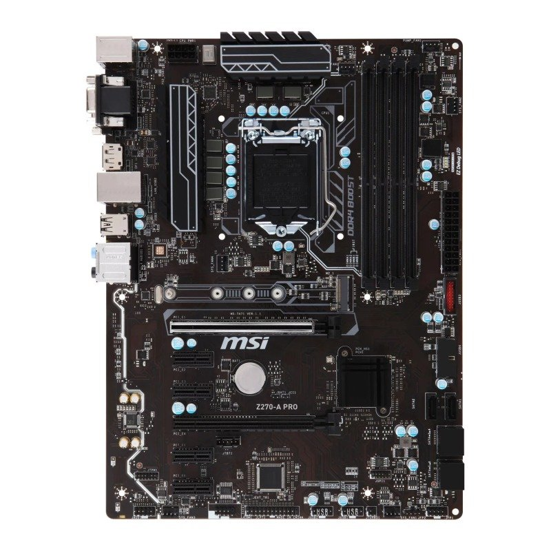 MSI Z270 A PRO Intel Socket 1151 ATX Motherboard