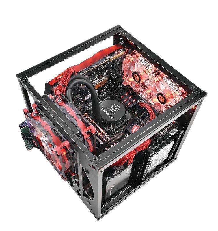 Thermaltake SUPPRESSOR F1 Mini ITX Cube Chassis Liquid