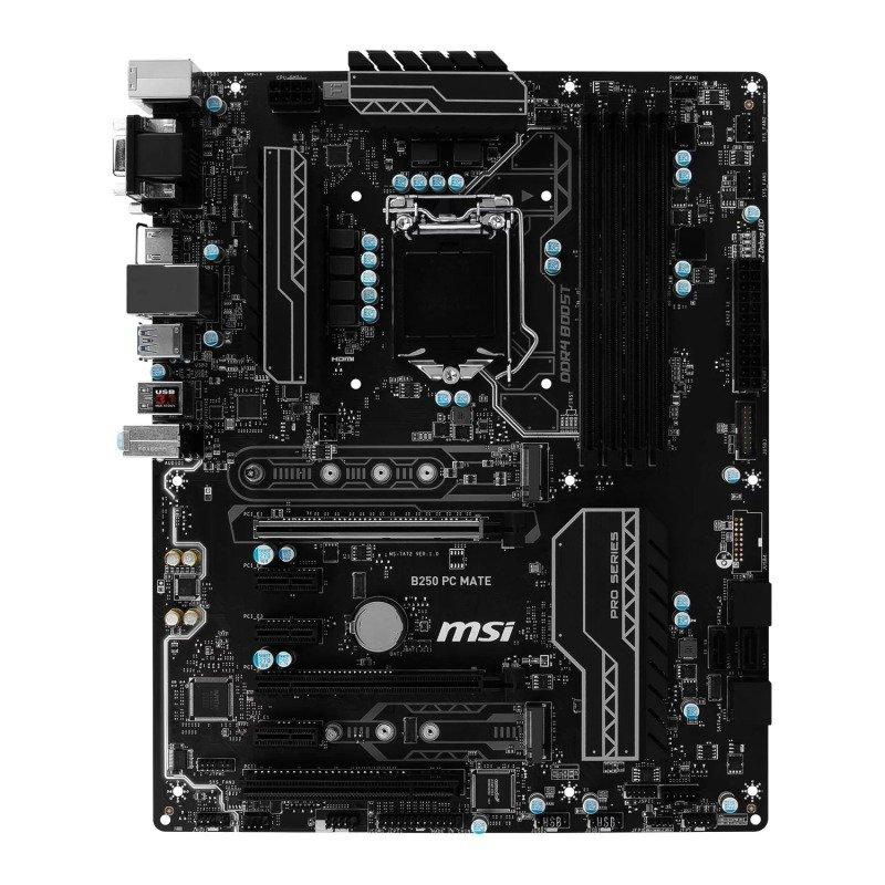MSI B250 PC MATE Intel Socket 1151 ATX Motherboard