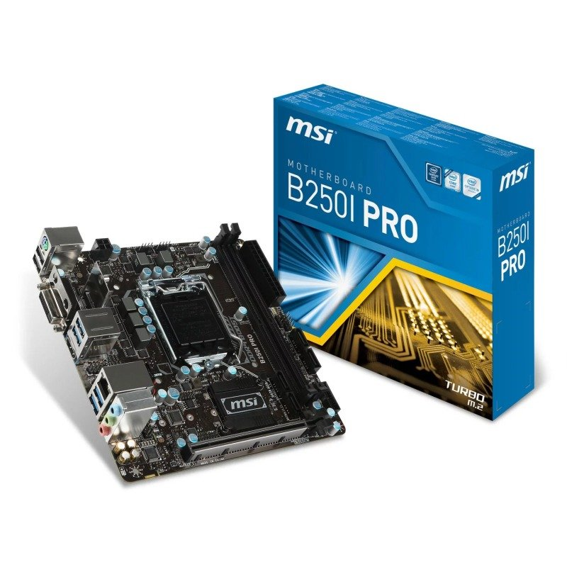 MSI B250I Pro Intel Socket 1151 mITX Motherboard