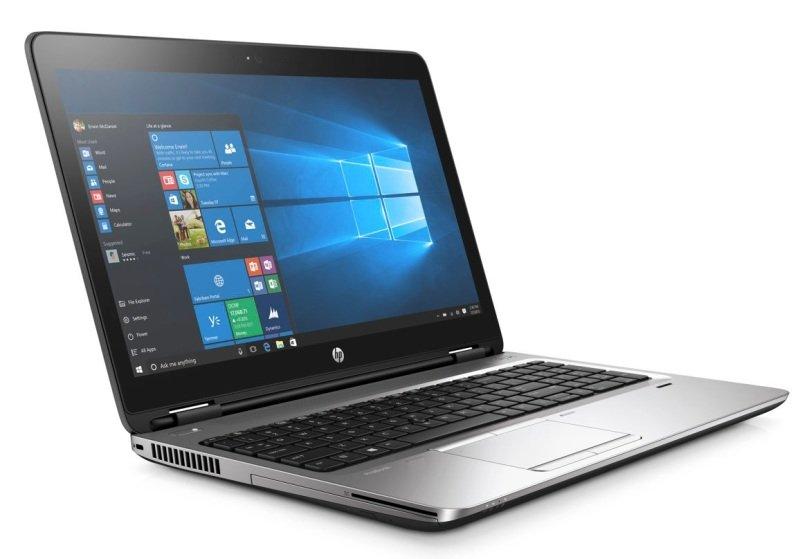 "HP ProBook 650 G2 Laptop Intel Core i36100U 2.3GHz 4GB RAM 500GB HDD 15.6"" LED DVDRW Intel HD WIFI Webcam Bluetooth Windows 10 Pro  Includes Ultraslim Dock 2013"
