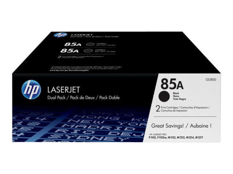 HP 85A Ink Dual Pack Black HP Toner - CE285AD