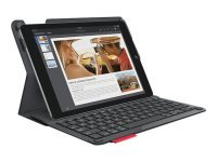 Type+ Protective case with integrated keyboard For iPad - BLACK - ESP - BT - MEDITER