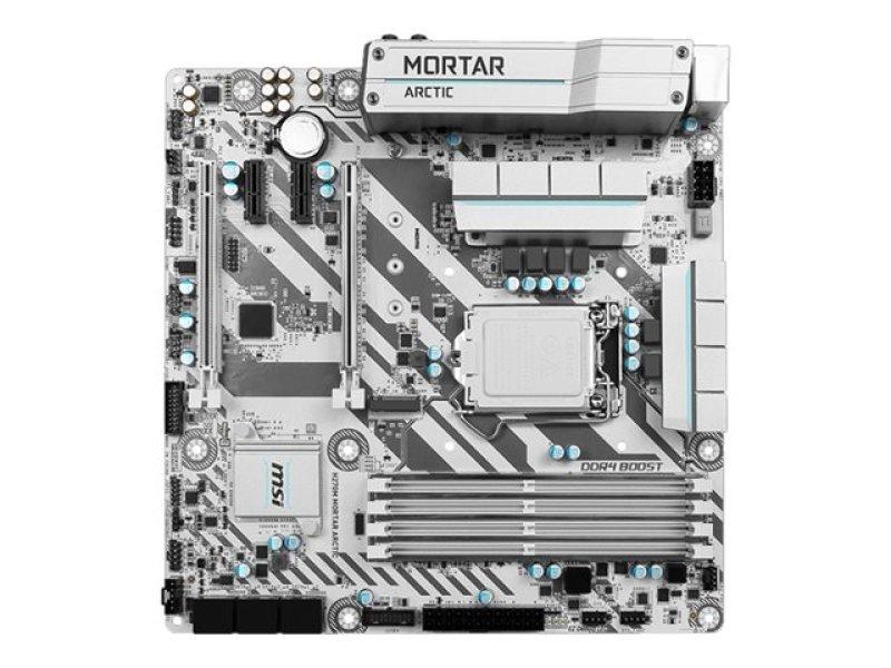 MSI H270M Mortar Arctic Intel Socket 1151 mATX Motherboard