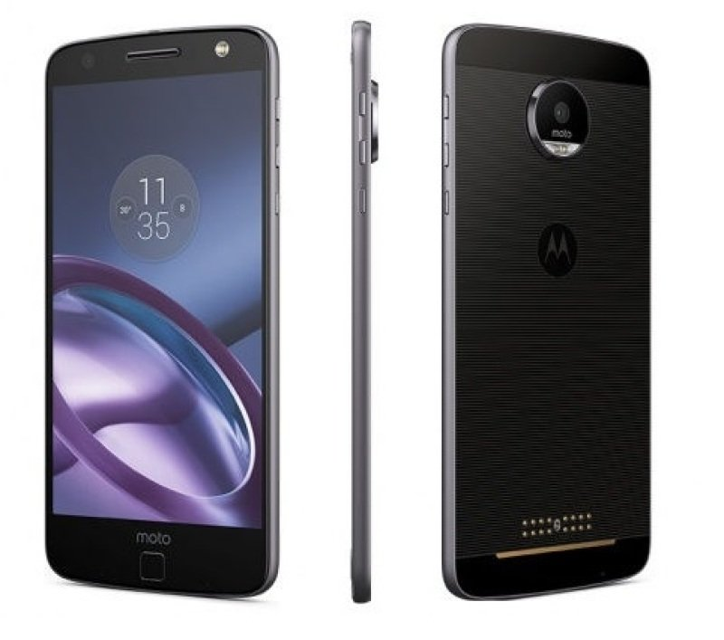 Motorola Moto Z 32GB Phone  BlackSilver