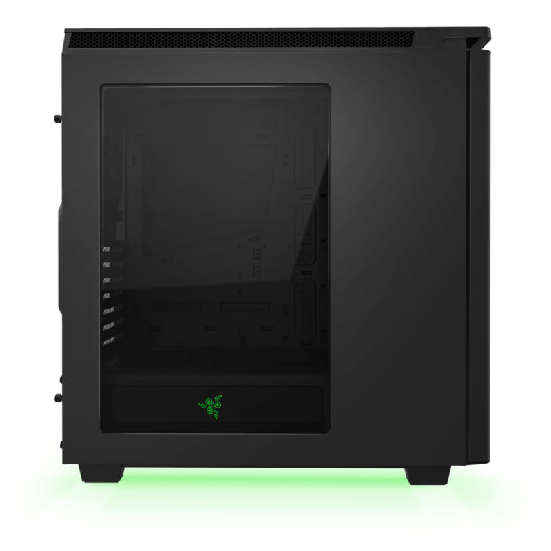 NZXT H440 New Edition Black / Green Chassis - Designed by Razer