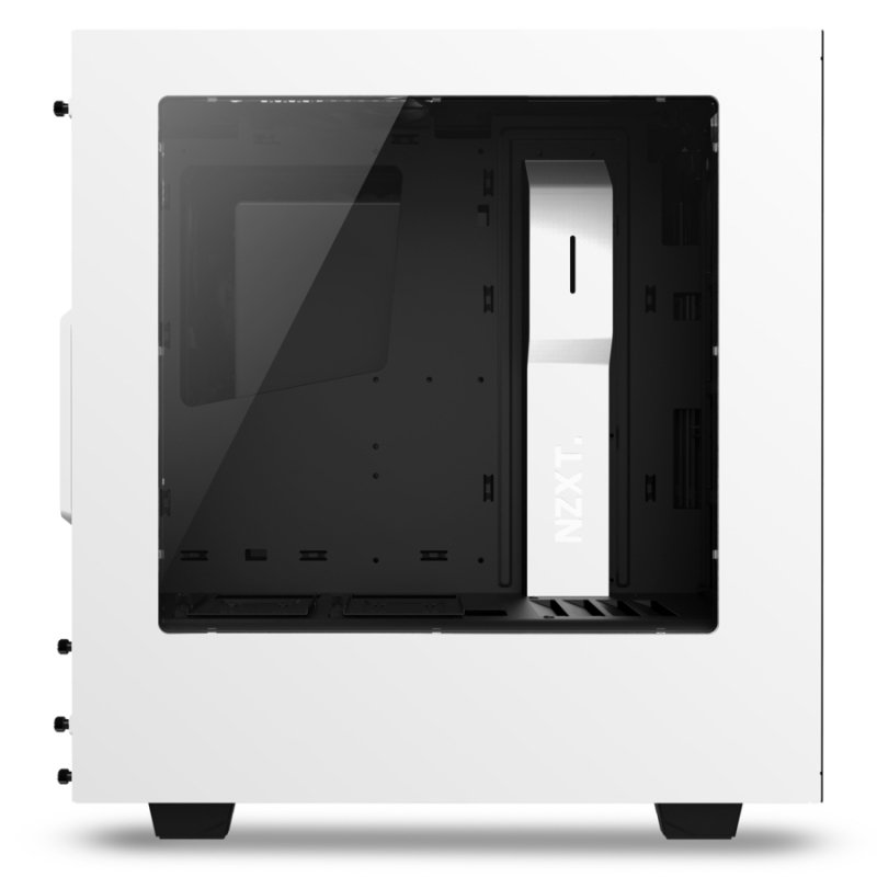 NZXT Source 340 Mid Tower Case - White