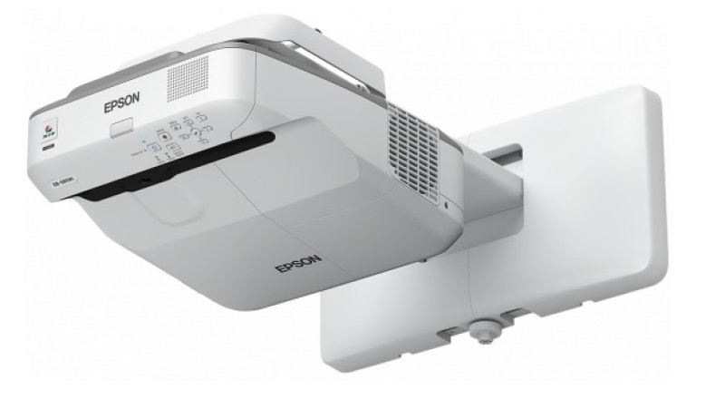 Epson Eb685w 3500 Lumens Wxga Ust Ultra Short Throw Projector Display Size Up To 100 Up To 10000 Hours Lamp Life 140001 Dynamic Contrast Ratio Wired Lan And Optional Wireless Builtin 16w Speaker Split Screen 3x Hdmi Connections