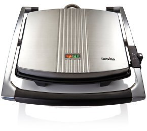 Breville Cafe Style Sandwich Press Stainless Steel