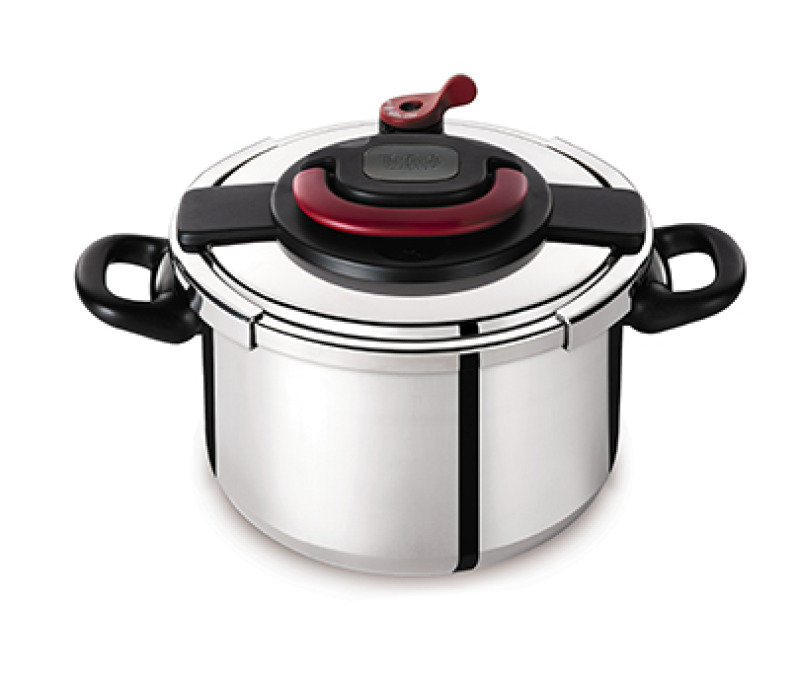 Tefal Clipso Plus 6 Litre Pressure Cooker Stainless Steel