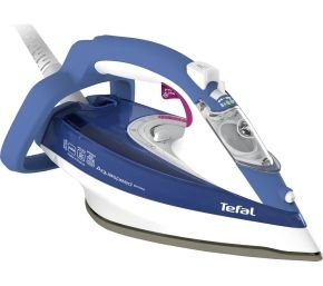 Tefal Aquaspeed Durilium Soleplate 2600W Steam Iron Blue
