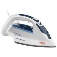 Tefal Smart Protect Durilium Soleplate 2500W Steam Iron Blue and White