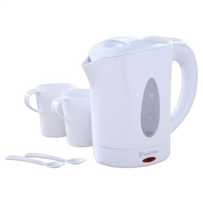 Russell Hobbs 0.85 Litre Corded Travel Kettle White