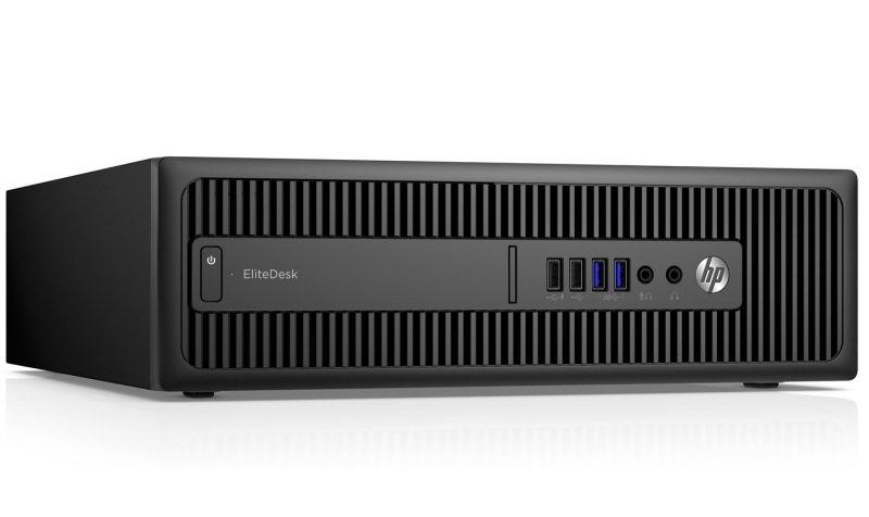 HP EliteDesk 800 G2 SFF Desktop Intel Core i56500 3.2GHz 8GB RAM 500GB HDD DVDRW Intel HD Windows 10 Pro 64bit