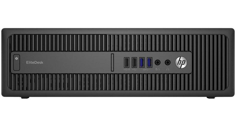 Hp Elitedesk 800 G2 Sff Desktop Pc Desktops At Ebuyer