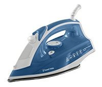 Russell Hobbs Supreme Steam 2400W Traditional Iron Stainlees Steel Soleplate Blue/White