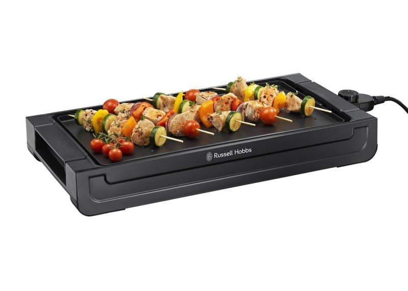 Russell Hobbs Occasions 1500W Removable Plate With Griddle Black