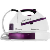 Russell Hobbs 2800W 5 Bar Easy Steam Generator White/Purple