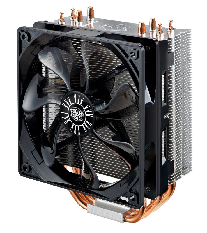 Cooler Master Hyper 212 EVO 4 Heatpipes1x120mm Fan CPU Air Cooler