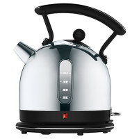 Dualit 1.7 Litre Traditional Dome Kettle Black