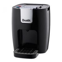 Dualit Xpress 3 in 1 1200W Coffee Machine Black