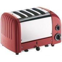 Dualit 4 Slice Vario Toaster Red