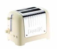 Dualit 2 Slice Lite Toaster High Gloss Cream