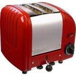 Dualit 2 Slice Vario Toaster Red