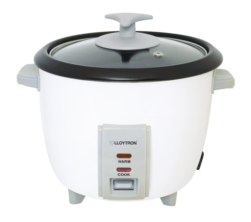Lloytron 0.8 Litre Automatic Rice Cooker White