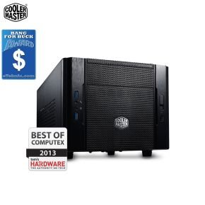 Cooler Master Elite 130 Mini ITX Case - 120mm Water Cooler Supported!