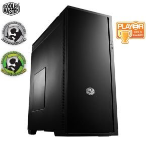 CoolerMaster Silencio 652s Black Usb3.0 Atx PC Gaming Case