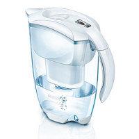 Brita 1.4 Litre Elemaris Cool Meter Water Filter Jug White