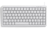 White USB & PS2 Combo Low profile Compact Keyboard.