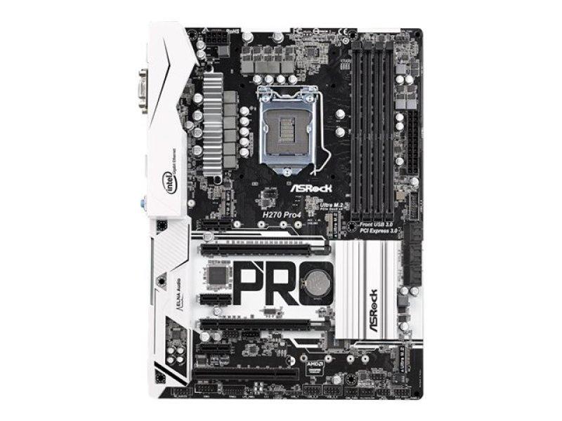 Asrock H270 Pro4 Intel Socket 1151 ATX Motherboard