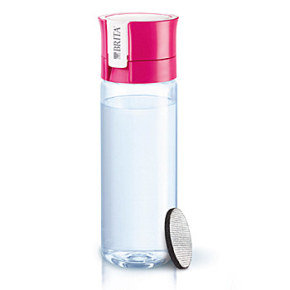 Brita 0.6 Litre fill&go Water Bottle Pink