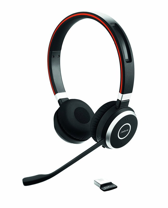 Jabra Evolve 65 Wireless Bluetooth Stereo Headset