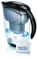 Brita 1.4 Litre Elemaris Cool Meter Water Filter Jug Black