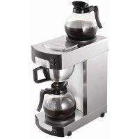 BURCO 2200W Manual Filter Coffee Maker Stainless Steel