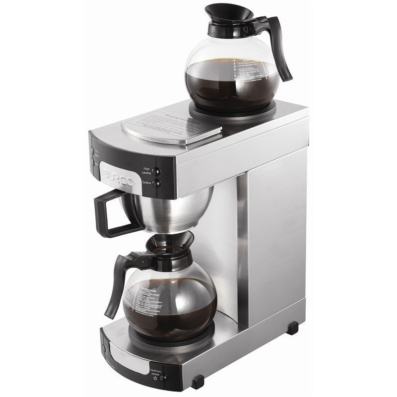 Image of BURCO 2200W Manual Filter Coffee Maker Stainless Steel