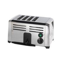 Burco 4 Slice Commercial Toaster Stainless Steel