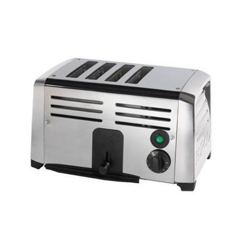 Image of Burco 4 Slice Commercial Toaster Stainless Steel