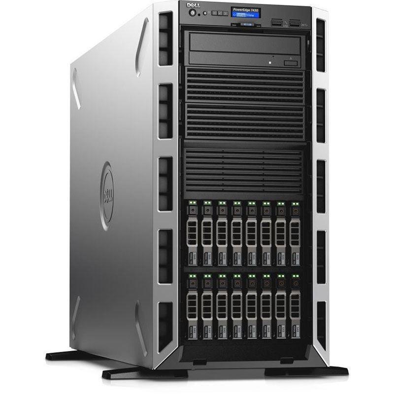 Dell PowerEdge T430 Xeon E52620V4 2.1 GHz 16GB RAM 600GB HDD 5U Tower Server