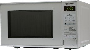 Panasonic 20 Litre 800W Solo Touch Control Microwave Silver